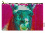 Llama Of A Different Color Carry-all Pouch