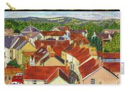 Painting Llandovery Roof Tops Carry-all Pouch