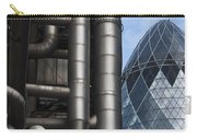 Lloyds Of London And The Gherkin Building Carry-all Pouch