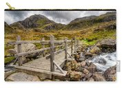 Llyn Idwal Bridge Carry-all Pouch by Adrian Evans