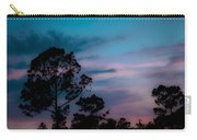 Loblelly Pine Silhouette Carry-all Pouch by DigiArt Diaries by Vicky B Fuller