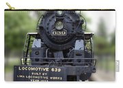 Locomotive 639 Type 2 8 2 Front View Carry-all Pouch