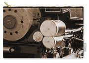 Locomotive No5 Stamped Carry-all Pouch