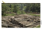 Logs In Logging Area, Danum Valley Carry-all Pouch