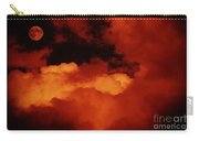 Lomo Moon And Clouds Carry-all Pouch