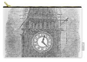 London: Big Ben, 1856 Carry-all Pouch