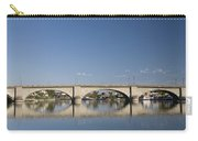 London Bridge And Reflection Carry-all Pouch