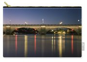 London Bridge At Dusk Carry-all Pouch