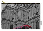 London Bus At St. Paul's Carry-all Pouch