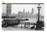 London England - House Of Parliament - C 1909 Carry-all Pouch