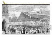 London: Fish Market, 1870 Carry-all Pouch
