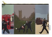 London Matrix Triptych Carry-all Pouch by Jasna Buncic