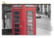 London Phone Box Carry-all Pouch