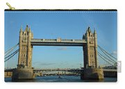 London Tower Bridge Looking Magnificent In The Setting Sun Carry-all Pouch