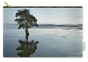 Lone Cypress Tree In Water.  Carry-all Pouch