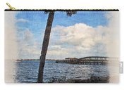 Lone Palm Tree Carry-all Pouch