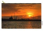 Long Beach Harbor Sunrise Carry-all Pouch