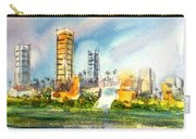 Long Beach Oil Islands Carry-all Pouch