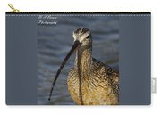Long-billed Curlew Portrait Carry-all Pouch