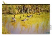 Long Billed Dowitchers Migrating Carry-all Pouch