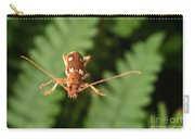 Long-horned Beetle In Flight Carry-all Pouch