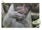 Long-tailed Macaque Macaca Fascicularis Carry-all Pouch