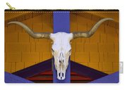 Longhorn Carry-all Pouch by Carol Leigh