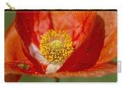 Longhorned Grasshopper Nymph On Orange Poppy Carry-all Pouch