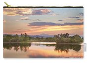 Longs Peak Evening Sunset View Carry-all Pouch