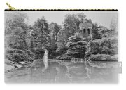 Longwood Gardens Castle In Black And White Carry-all Pouch