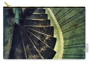 Looking Down An Old Staircase Carry-all Pouch