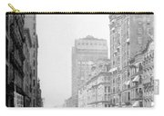 Looking Down State Street - Chicago - C  1897 Carry-all Pouch