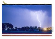 Looking East Lightning Strike Carry-all Pouch