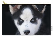 Lop Eared Siberian Husky Puppy Carry-all Pouch