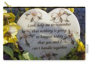 Lord Help Me To Remember Carry-all Pouch
