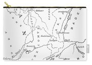 Lorraine And Alsace: Map Carry-all Pouch