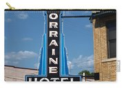 Lorraine Hotel Sign Carry-all Pouch