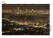 Los Angeles  City View At Night  Carry-all Pouch