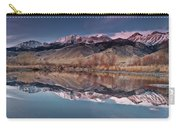 Lost River Range Winter Reflection Carry-all Pouch