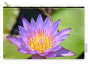 Lotus Aglow Carry-all Pouch