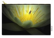 Lotus Blossom And Bee Carry-all Pouch