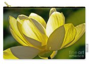 Lotus Flower Carry-all Pouch by Heiko Koehrer-Wagner