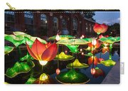 Lotus Flower Carry-all Pouch by Semmick Photo