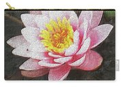 Lotus In The Rain 3 Carry-all Pouch