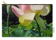 Lotus Lily Standing Tall Carry-all Pouch