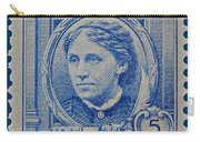 Louisa May Alcott Postage Stamp  Carry-all Pouch
