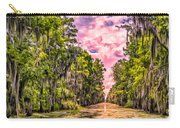 Louisiana Bayou Sunrise Carry-all Pouch
