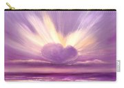 Love At Sunset Carry-all Pouch