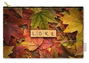 Love-autumn Carry-all Pouch