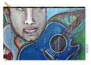 Love For Blue Guitar Carry-all Pouch